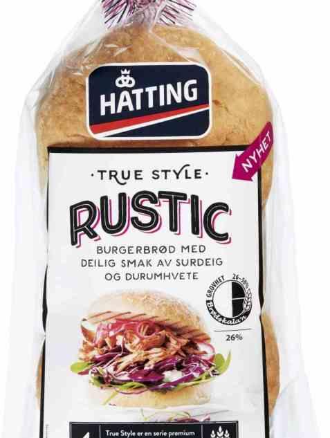 Bilde av Hatting True Style Rustic hamburgerbrød.