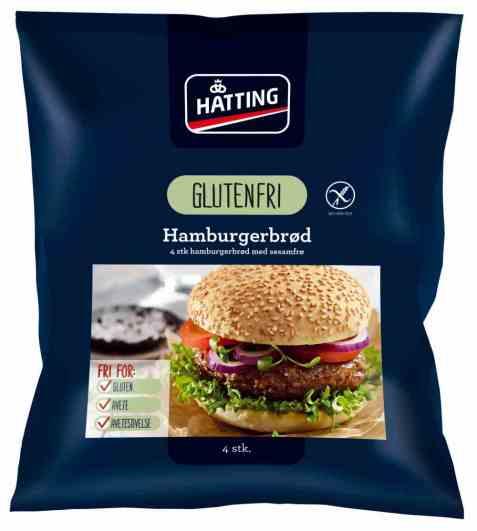 Bilde av Hatting Glutenfri Hamburgerbrød.