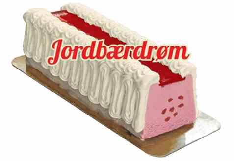 Bilde av Isbilen Jordbærdrøm Iskake.