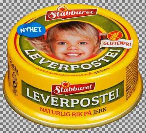 Bilde av Stabburet glutenfri Leverpostei.