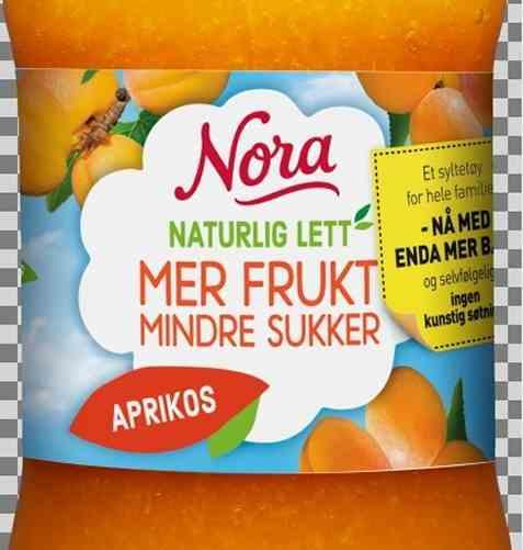 Bilde av Nora Naturlig lett aprikossyltetøy.