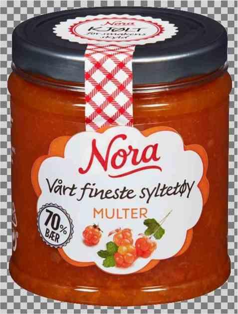Bilde av Nora kjølt multesyltetøy.