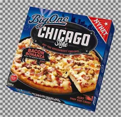 Bilde av BigOne Chicago Style Bacon Bonanza.