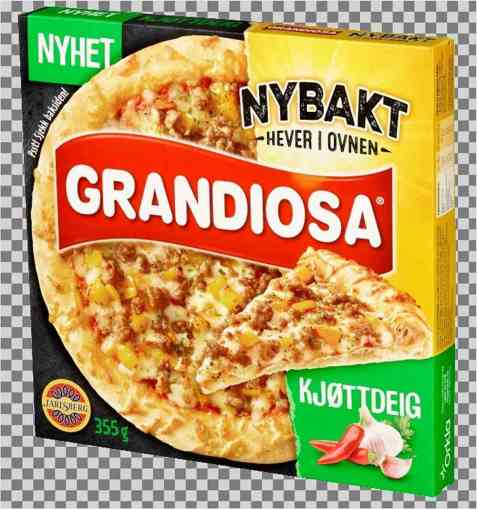 Bilde av Grandiosa Nybakt Kjøttdeig.