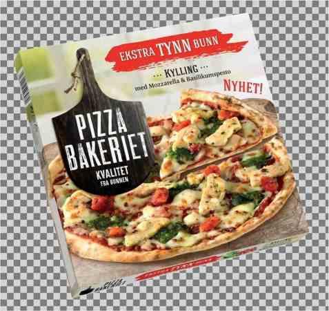 Bilde av Pizzabakeriet Kylling & Pesto.