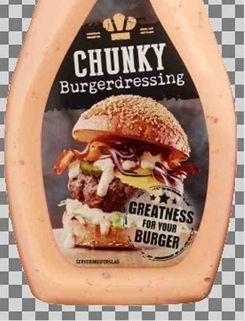 Bilde av Idun Chunky Burgerdressing.