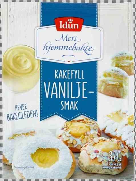 Bilde av Idun Kakefyll vaniljesmak.