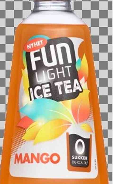 Bilde av FUN Light Ice Tea Mango.