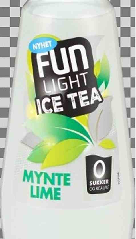 Bilde av FUN Light Ice Tea Mynte Lime.