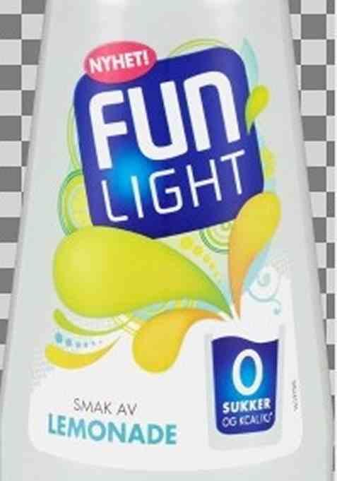 Bilde av FUN Light Lemonade.