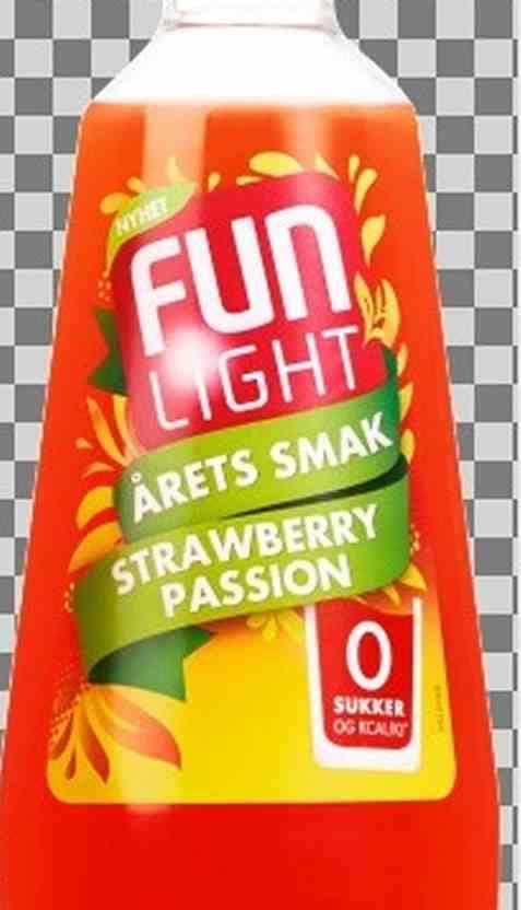 Bilde av FUN Light Strawberry Passion.