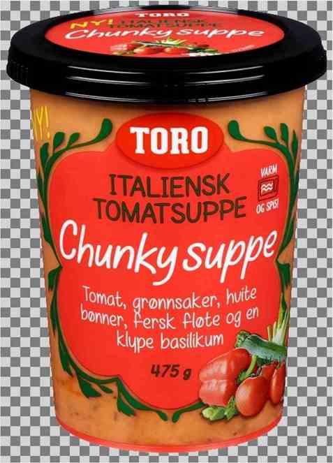 Bilde av Toro Chunky Italiensk Tomatsuppe.