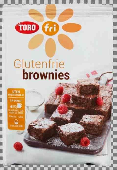 Bilde av Toro glutenfrie brownies.