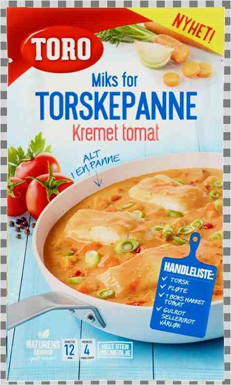 Bilde av Toro Miks for torskepanne kremet tomat.