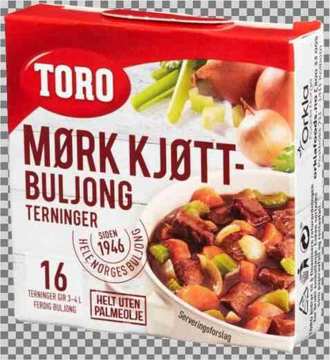 Bilde av Toro Mørkt Kjøttbuljong terning.