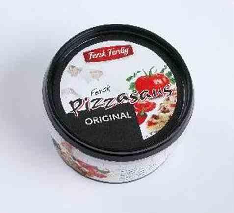 Bilde av Fersk og ferdig pizzasaus original.