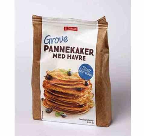 Bilde av Eldorado grove pannekaker med havre.