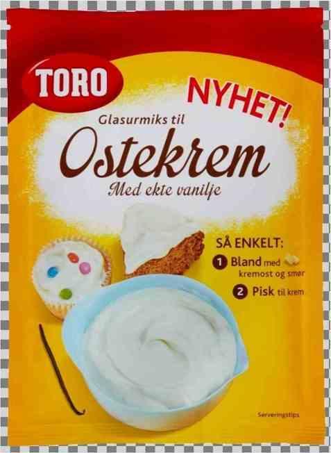 Bilde av Toro Glasurmiks til Ostekrem.