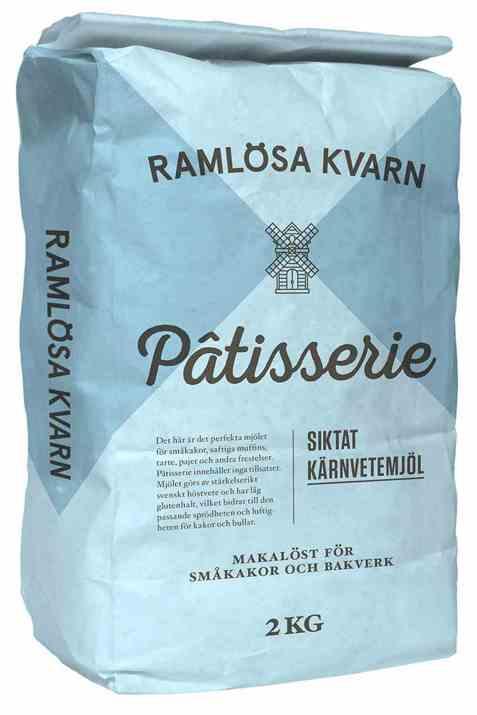 Bilde av Ramløsa Kvarn patisserie siktet kjernehvetemel.