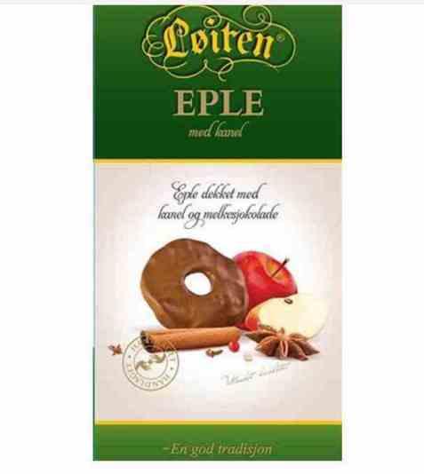 Bilde av Løiten Fruktsjokolade Eple med kanel.