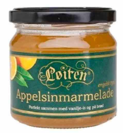 Bilde av Løiten Appelsinmarmelade - engelsk type.