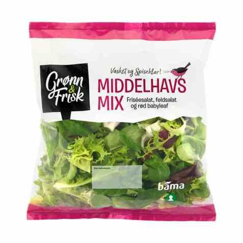 Bilde av Grønn og frisk middelhavs mix.