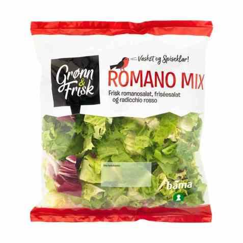 Bilde av Grønn og frisk romano mix.