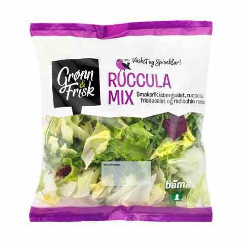 Bilde av Grønn og frisk ruccula mix.