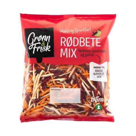 Bilde av Grønn og frisk rødbete mix.