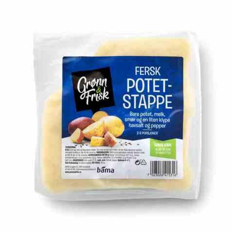 Bilde av Grønn og frisk fersk potetstappe.
