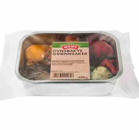 Bilde av Meny ovnsbakte grønnsaker.