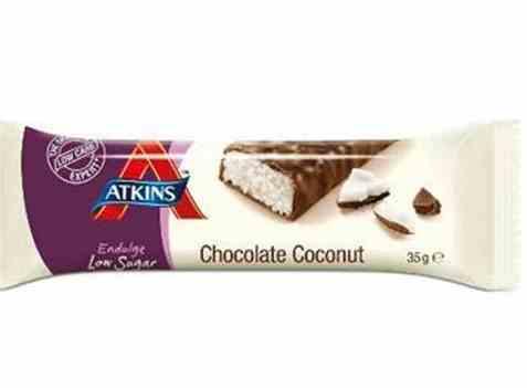 Bilde av Atkins endulge sjokoladebar kokos.
