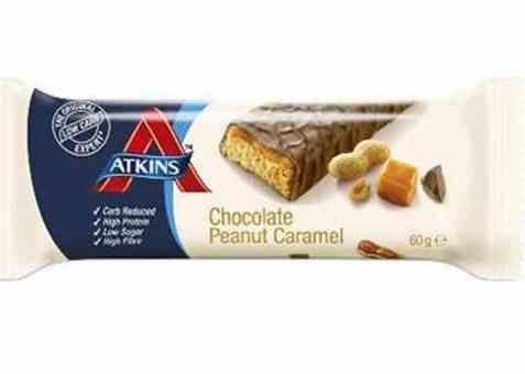 Bilde av Atkins Advantage bar sjokolade, peanøtt, karamell.