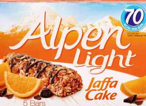 Bilde av Weetabix alpen bars light jaffacake.