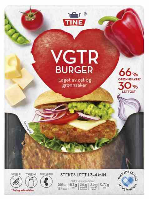 Bilde av TINE VGTR Burger.