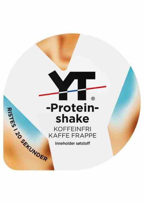 Bilde av Tine YT Proteinshake koffeinfri kaffe frappe.