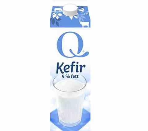 Bilde av Q kefir 4 prosent.