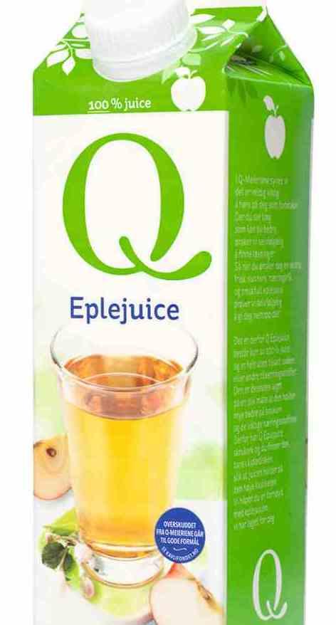 Bilde av Q eplejuice 0,5 l.