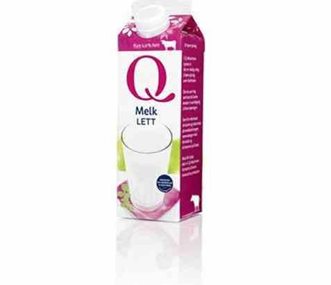 Bilde av Q melk lett 1,0% 0,5 l.