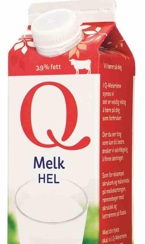 Bilde av Q Melk Hel 0,5 l.