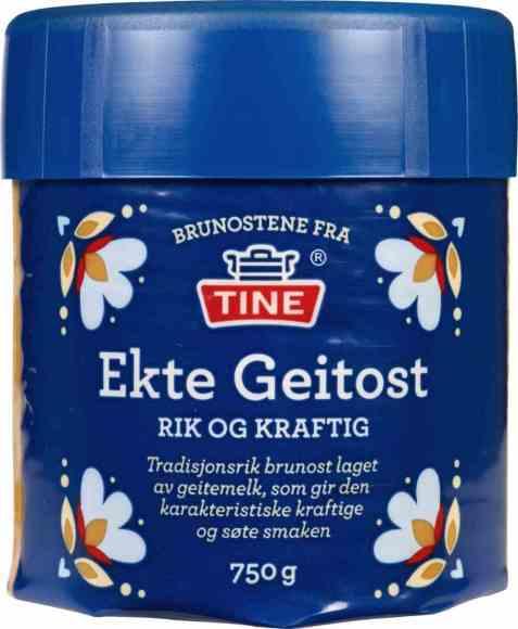 Bilde av Tine Ekte Geitost 750 gr.