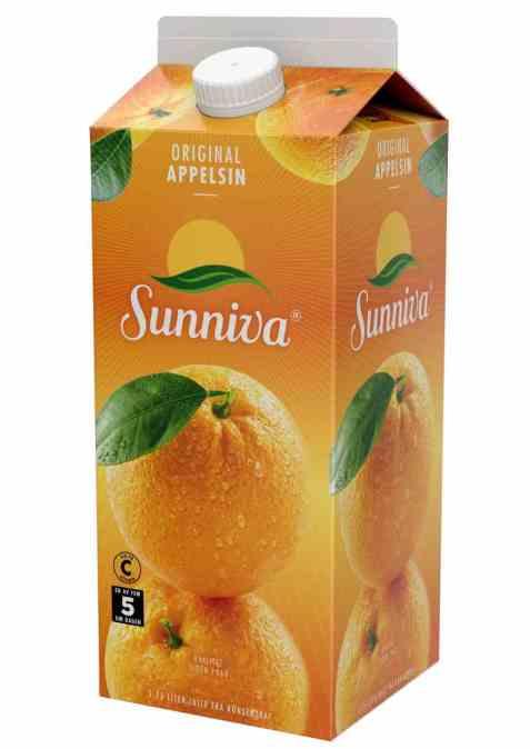 Bilde av Tine Sunniva Original Appelsinjuice 1,75 liter.