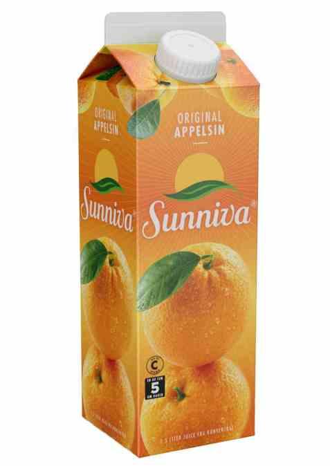 Bilde av Tine Sunniva Original Appelsinjuice 0,5 liter.