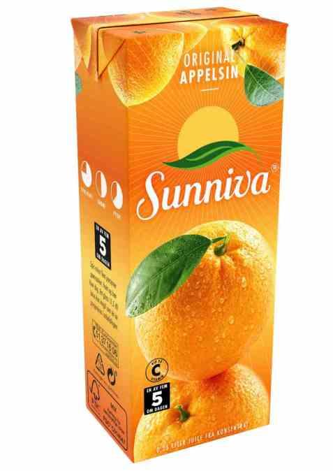 Bilde av Tine Sunniva Original Appelsinjuice 0.25 liter.