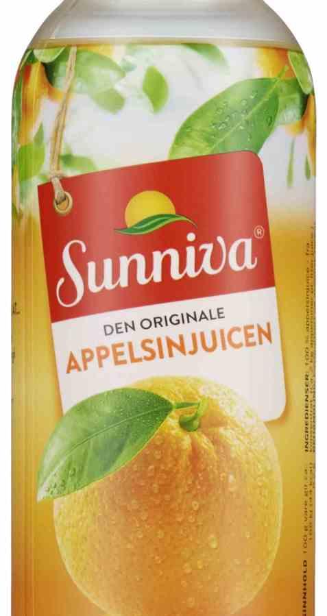 Bilde av Tine Sunniva Original Appelsinjuice flaske 0.4 liter.
