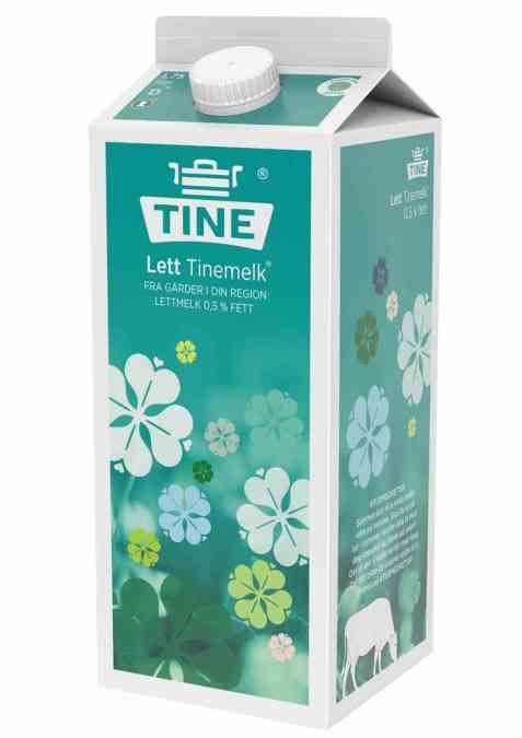 Bilde av Tine Lettmelk 0,5 prosent fett 1,75 liter.