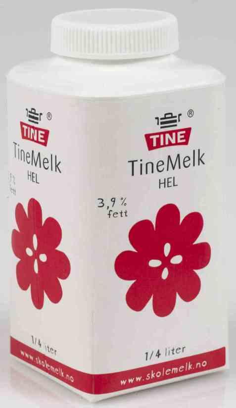 Bilde av Tine Helmelk 0,25 liter.