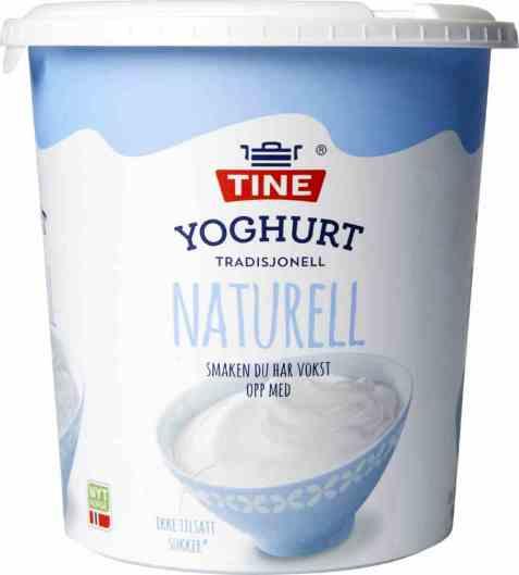 Bilde av TINE Yoghurt Naturell 850 gr.