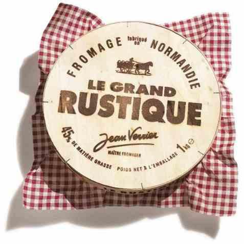 Bilde av Camembert Le Grand Rustique 1 kg.