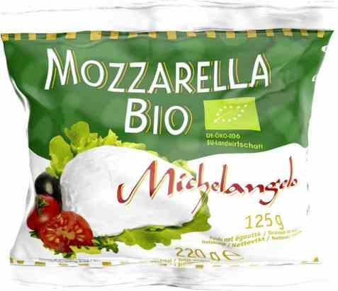 Bilde av Michelangelo Økologisk Mozzarella 125g.